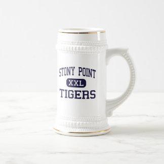 Stony Point - Tigers - High - Round Rock Texas 18 Oz Beer Stein