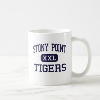 Stony Point - Tigers - High - Round Rock Texas Classic White Coffee Mug