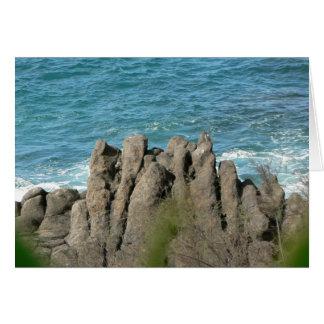 Stony Sea Shore Card