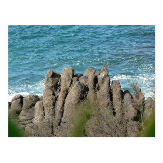 Stony Sea Shore Postcard