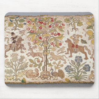 Stool cover, damask, late 16th century mousepads