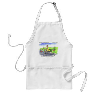 Stool Pigeons Funny Gifts Tees & Collectibles Adult Apron