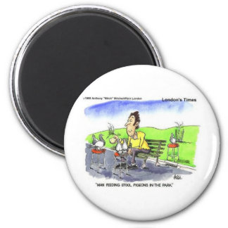 Stool Pigeons Funny Gifts Tees & Collectibles Magnet