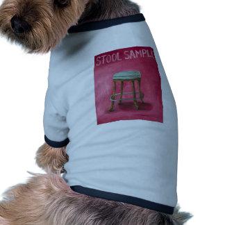 Stool Sample Dog Tee Shirt