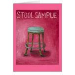 Stool Sample Greeting Card