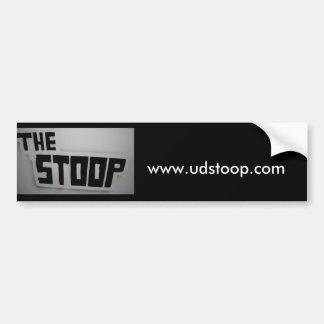 Stoop Bumper Sticker