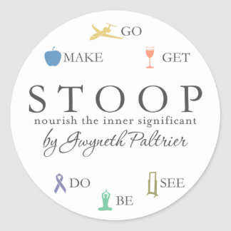 STOOP - Nourish The Inner Significant Sticker