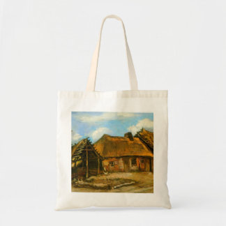 Stooping Woman by Vincent van Gogh Tote Bags