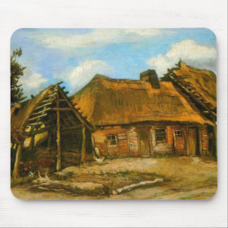 Stooping Woman by Vincent van Gogh Mousepad