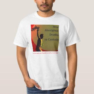 Stop Aboriginal Deaths in Custody 2 side Shirt
