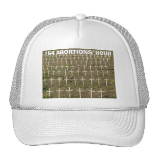 Stop abortion trucker hat
