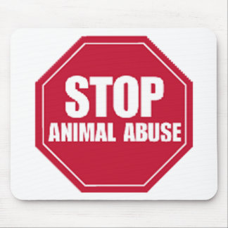 Stop Abuse Mouse Pad