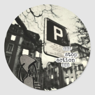 stop action stickers