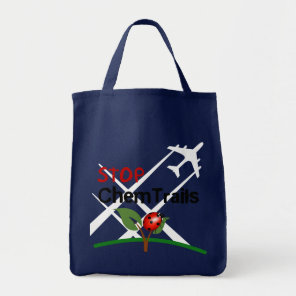 Stop Aerosol Spraying Lady Bug Leaf Tote Bag