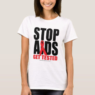 Stop AIDS: Get Tested T-Shirt