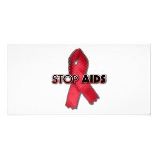 Stop AIDS (Line) Card