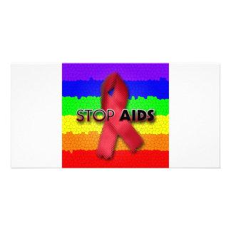 Stop AIDS (Rainbow) Card