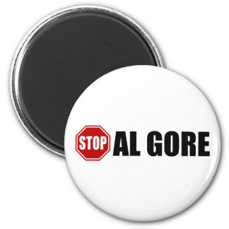 Stop Al Gore 2 Inch Round Magnet