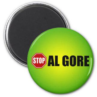 Stop Al Gore 2 Inch Round Magnet