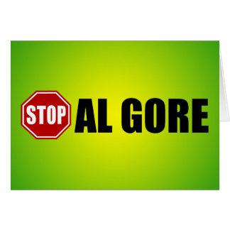 Stop Al Gore Card