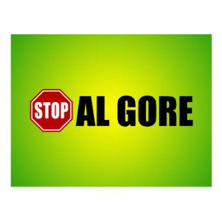 Stop Al Gore Postcard