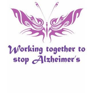 Stop Alzheimer's Disease Hoodie shirt