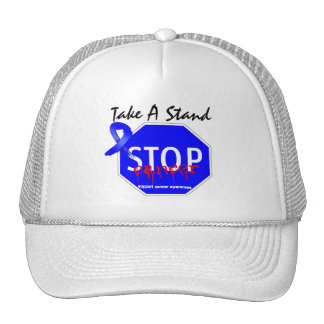 Stop Anal Cancer Take A Stand Trucker Hat