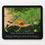 Stop and Relax Mousepad