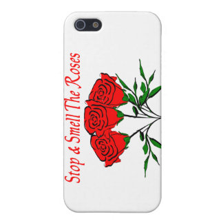 Stop And Smell The Roses Cover For iPhone SE/5/5s
