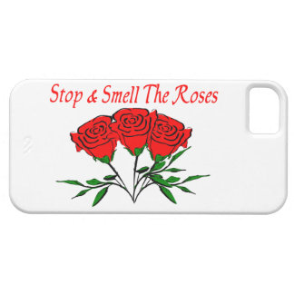 Stop And Smell The Roses iPhone SE/5/5s Case