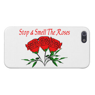 Stop And Smell The Roses iPhone SE/5/5s Cover