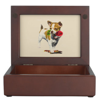 Stop And Smell The Roses Keepsake Box