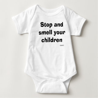 Stop and smell your children infant creeper