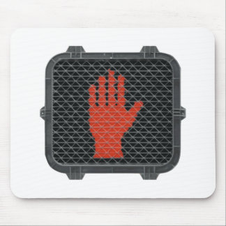 Stop and Talk to the Hand Mouse Pad
