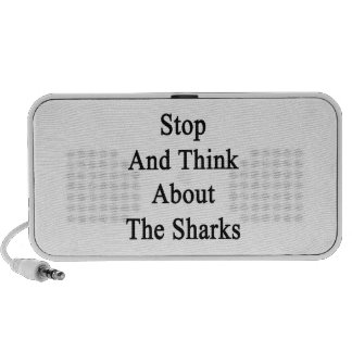 Stop And Think About The Sharks Speaker