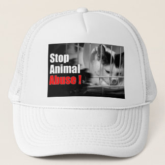 Stop Animal Abuse Cap