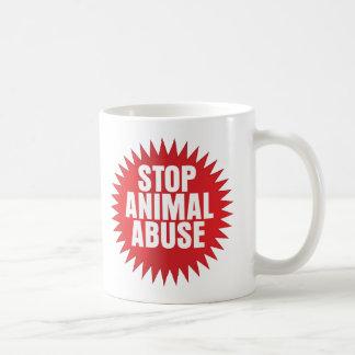 Stop Animal Abuse Coffee Mug