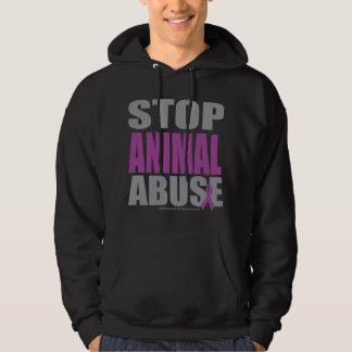 Stop Animal Abuse Hoodie