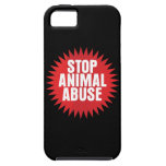 Stop Animal Abuse iPhone 5 Case