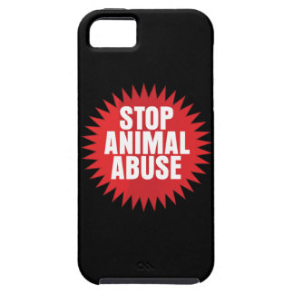 Stop Animal Abuse iPhone SE/5/5s Case