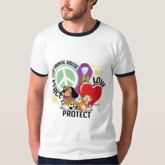 Stop Animal Abuse PLP Tee Shirt