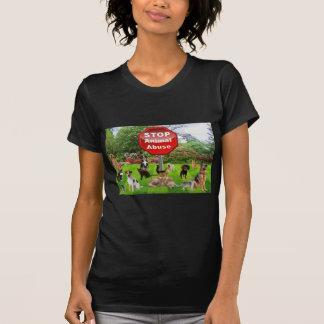 Stop Animal Abuse T Shirt