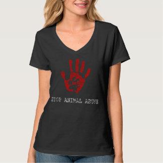 Stop Animal Abuse Tee Shirt