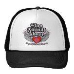 Stop Animal Abuse Wings Trucker Hat