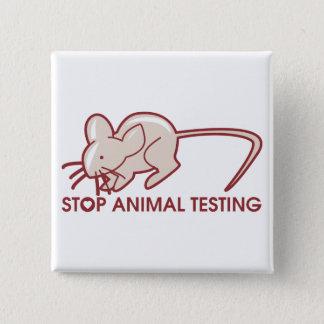 Stop Animal Testing Button