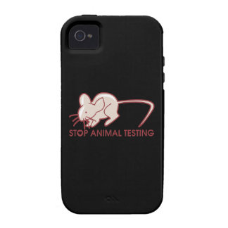 Stop Animal Testing Case-Mate iPhone 4 Cover