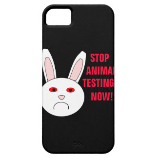 Stop Animal Testing Now iPhone 5 Case