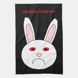 Stop Animal Testing Now Kitchen To Hand Towel