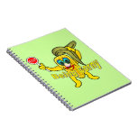 Stop Being Corny Spiral Notebooks
