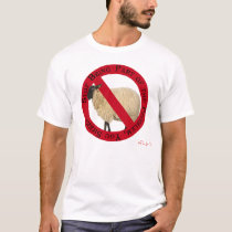 Stop Being Part of the Problem, You Sheep T-Shirt